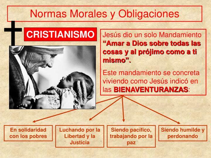 Normas Morales y Obligaciones