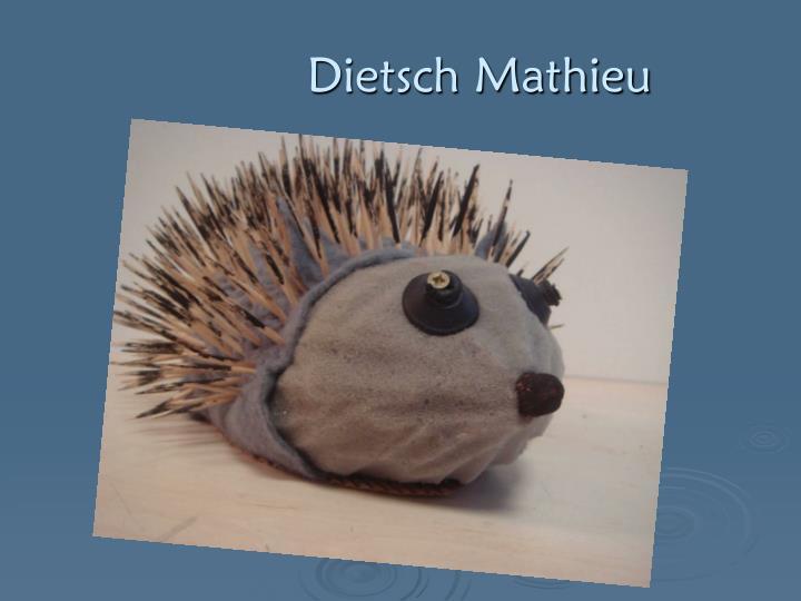 Dietsch Mathieu