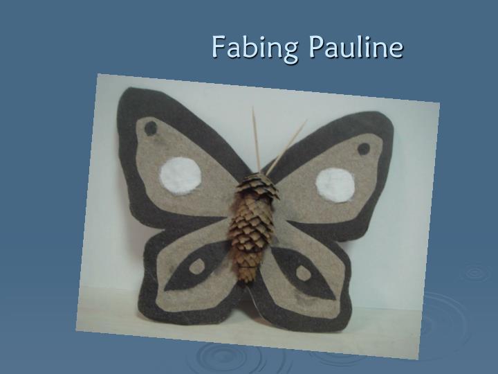 Fabing Pauline