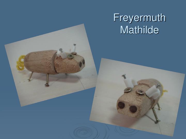 Freyermuth                                  Mathilde