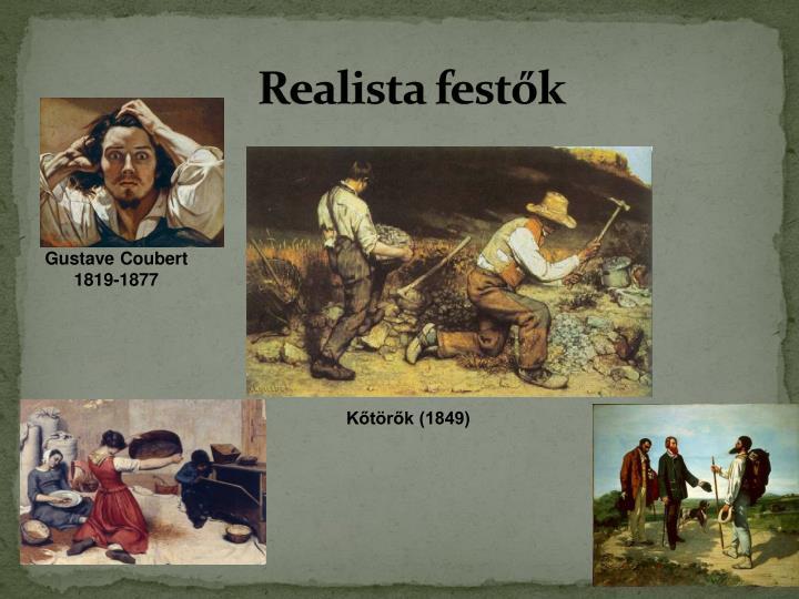 Realista festők