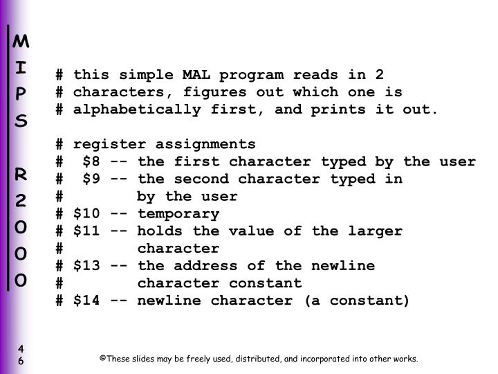 # this simple MAL program reads in 2