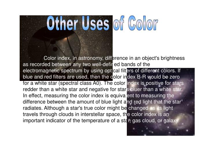 Other Uses of Color