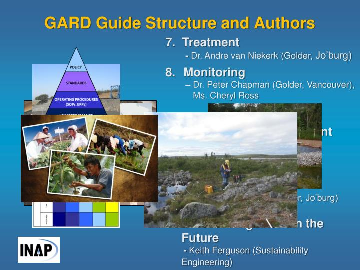 GARD Guide Structure and Authors