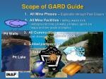scope of gard guide