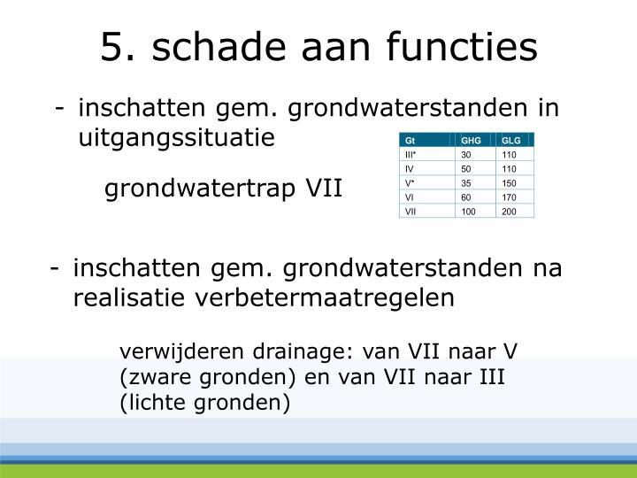 inschatten gem. grondwaterstanden na realisatie verbetermaatregelen