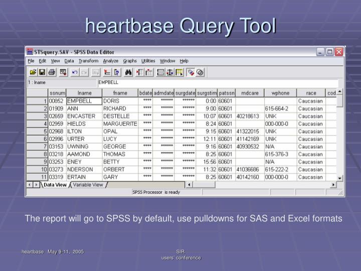 heartbase Query Tool