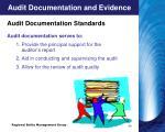 audit documentation and evidence2