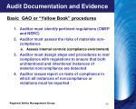 audit documentation and evidence5