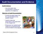 audit documentation and evidence6