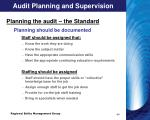 audit planning and supervision2