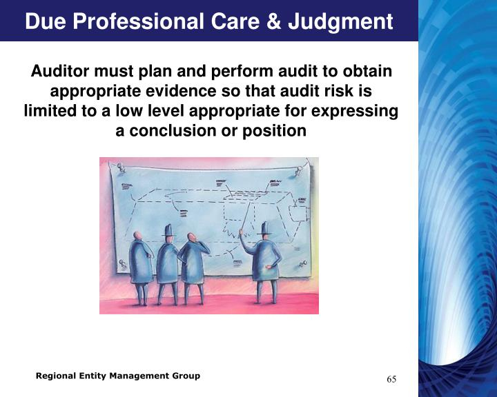 Due Professional Care & Judgment
