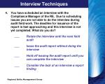 interview techniques1