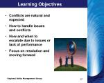 learning objectives8