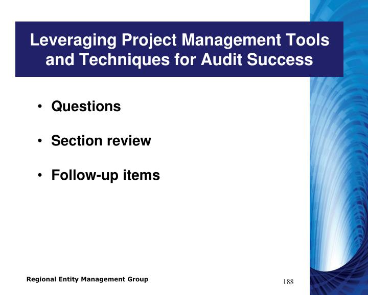 Leveraging Project Management Tools and Techniques for Audit Success