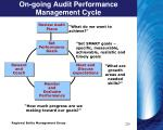 on going audit performance management cycle