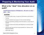 preparing monitoring your audit1