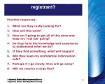 what are the concerns of your registrant