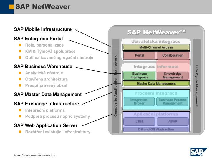SAP Mobile Infrastructure