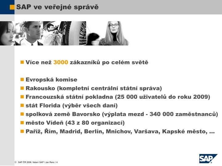 SAP ve veřejné správě