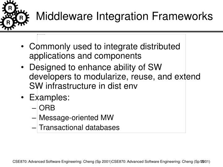 Middleware Integration Frameworks