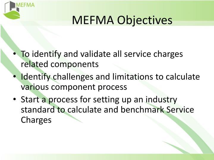MEFMA Objectives