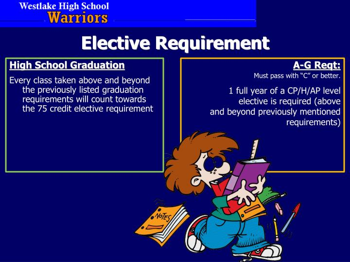 Elective Requirement