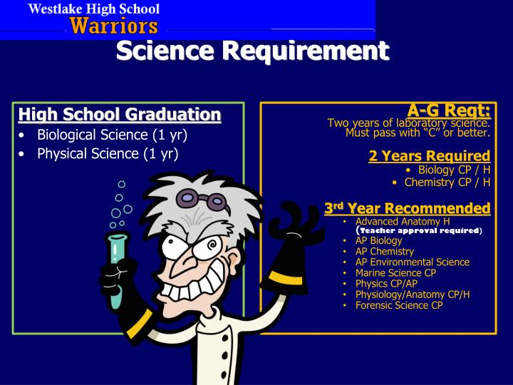Science Requirement