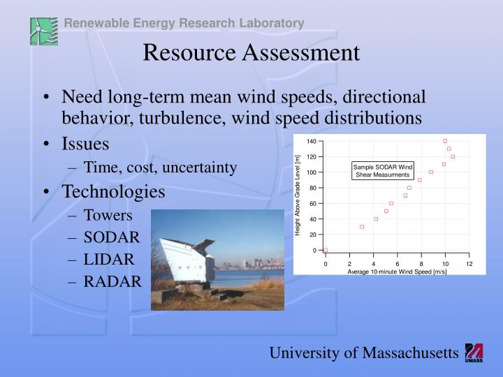 Need long-term mean wind speeds, directional behavior, turbulence, wind speed distributions