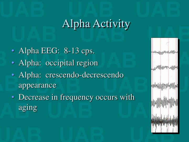 Alpha Activity