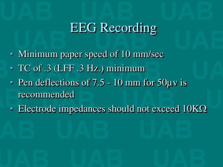 EEG Recording