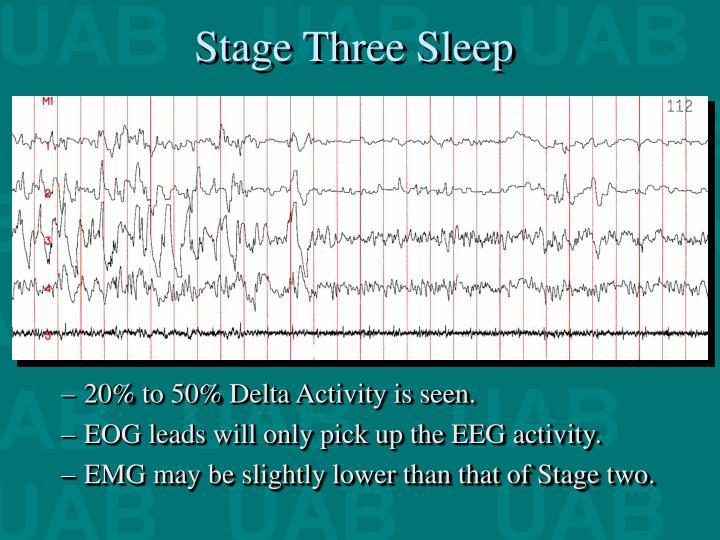 Stage Three Sleep