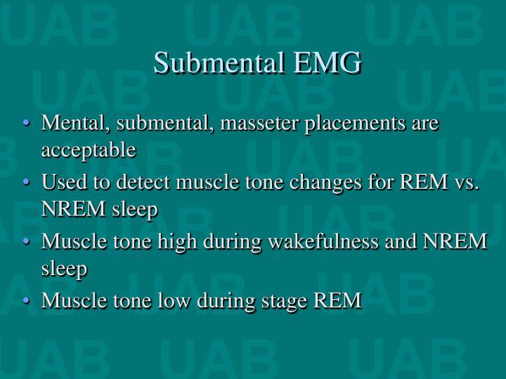 Submental EMG