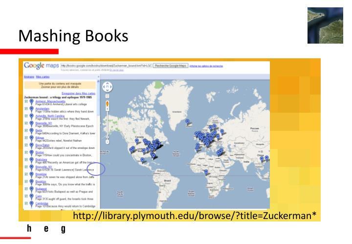 Mashing Books