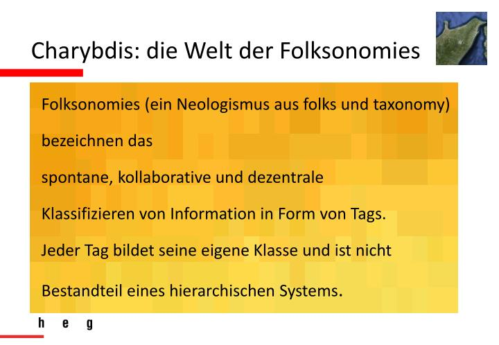 Charybdis: die Welt der Folksonomies