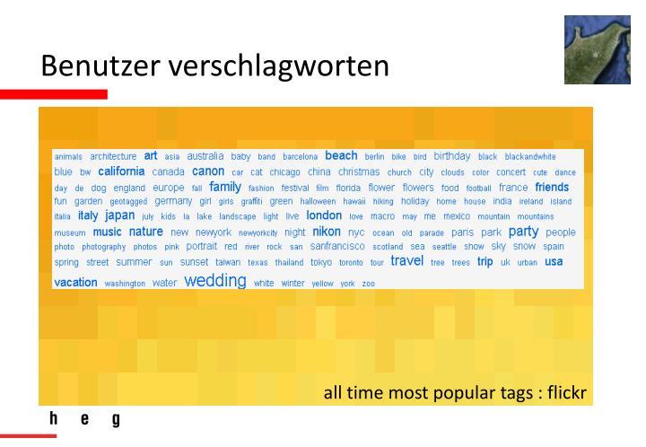 Benutzer verschlagworten