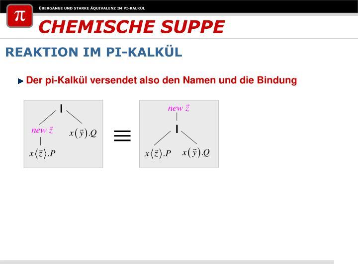 CHEMISCHE SUPPE