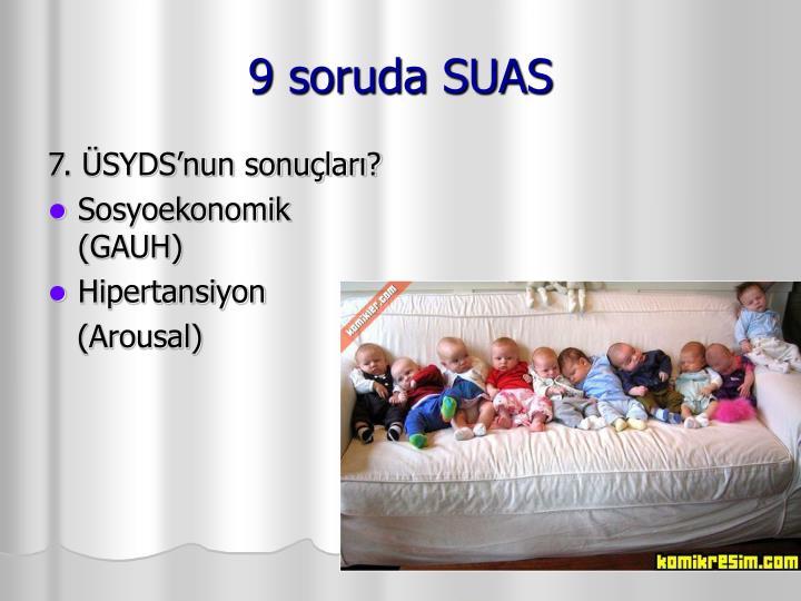 9 soruda SUAS