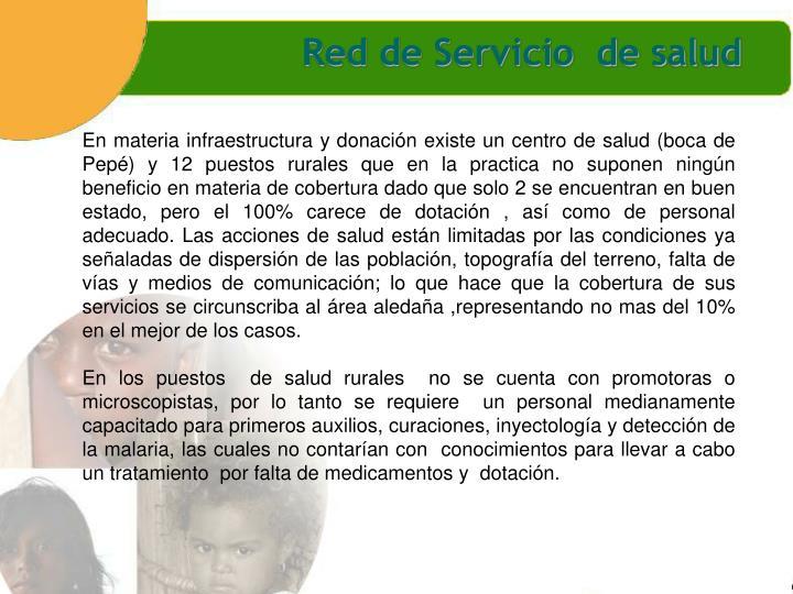 Red de Servicio  de salud