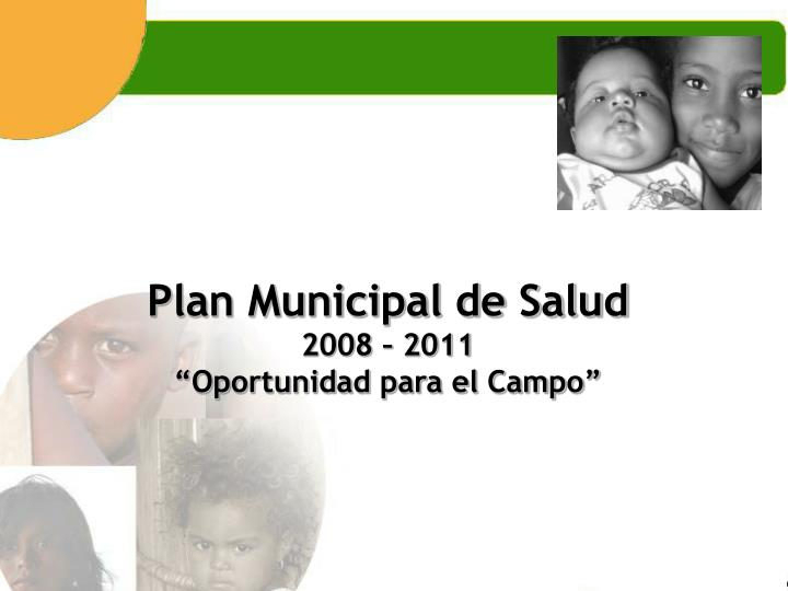 Plan Municipal de Salud