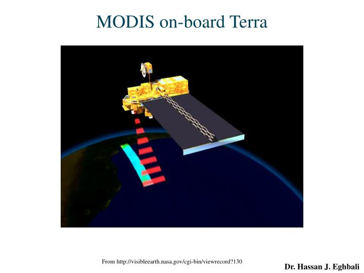MODIS on-board Terra
