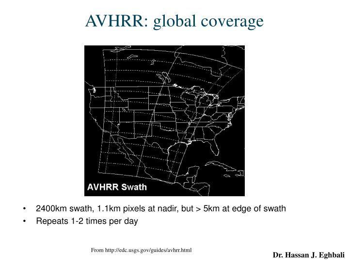 AVHRR: global coverage