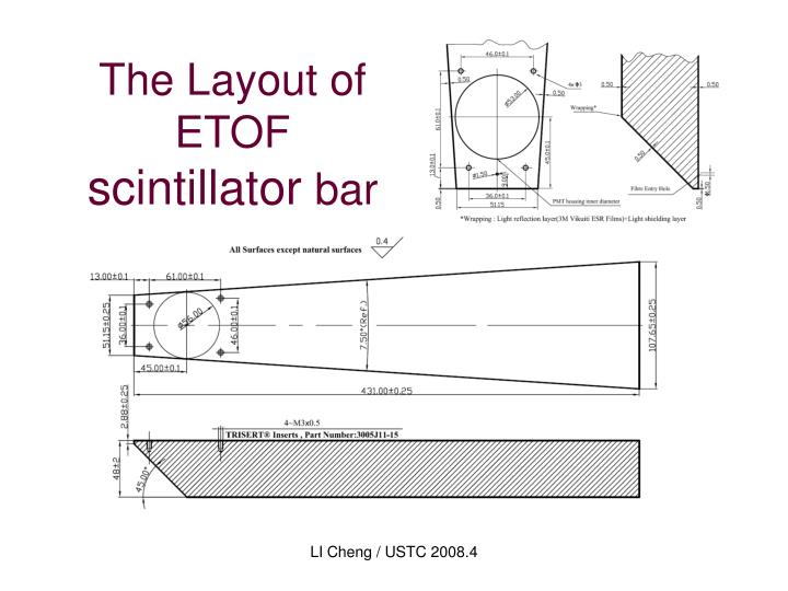 The Layout of ETOF