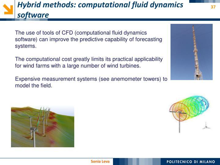 Hybrid methods: computational fluid dynamics software