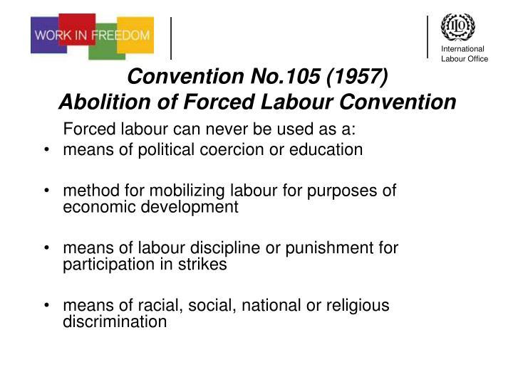 Convention No.105 (1957)