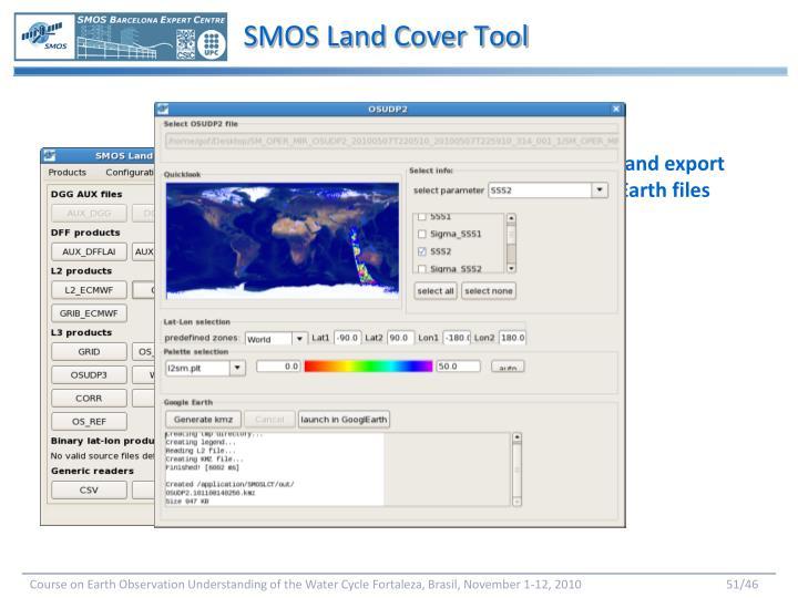 SMOS Land Cover Tool