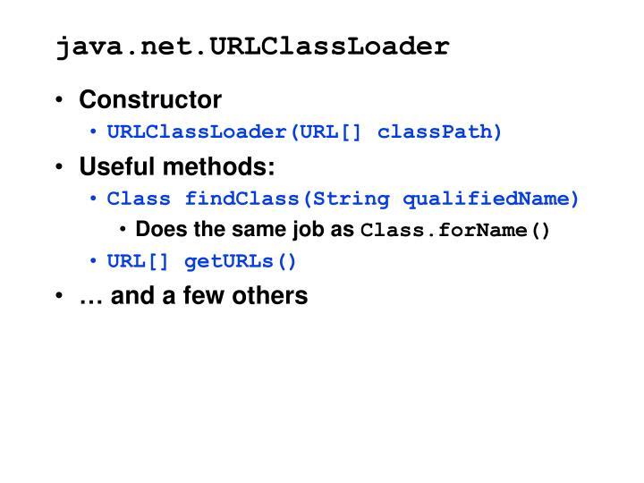 java.net.URLClassLoader