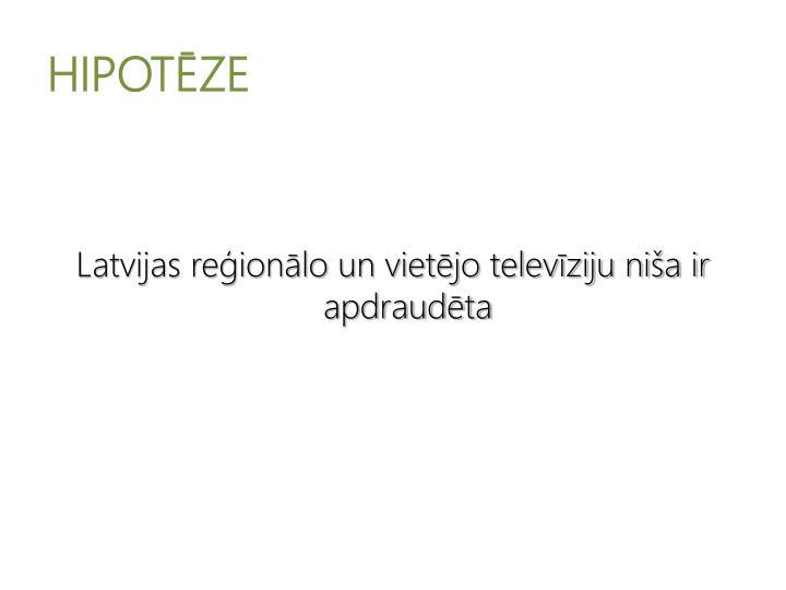 HIPOTZE