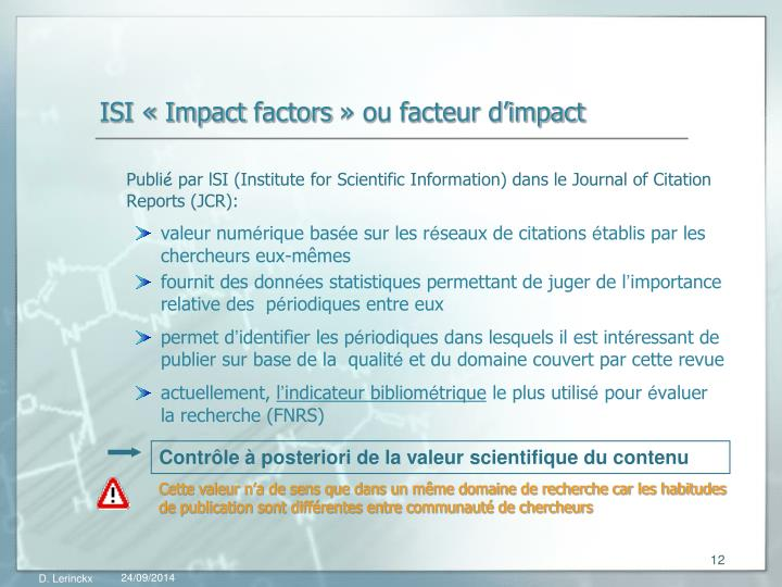 ISI «Impact