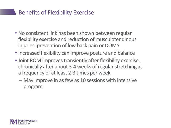Benefits of Flexibility Exercise